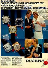 Dugena-Monza-Tropica-Reklame-Werbung-vintage print ad-Vintage Publicidad-老式平面广告