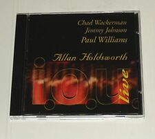 ALLAN HOLDSWORTH i.o.u live CD Europe 1997 Outer Music 1st pressing!! - NEW!!!
