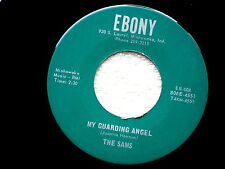 SAMS~MY GUARDING ANGEL~NEAR MINT~LONELY SEA~EBONY~~SOUL~ DOO WOP 45