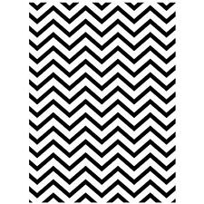 * Darice Embossing Folder CHEVRON  Background   A2 1218-68 Card Making