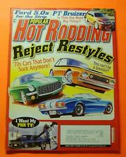 POPULAR HOT RODDING AUG/2000..REJECT RESTYLES:'70s CARS THAT DON'T SUCK ANYMORE