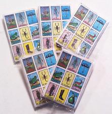 Loteria Mexican Bingo. Authentic Pinata Version 5-pack Rare Super CUTE Cool!!!