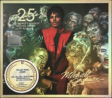 MICHAEL JACKSON Thriller 25th Anniversary DELUXE EDITION CD + DVD + 2D SLIPCASE