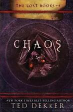 Chaos by Ted Dekker (2008, Hardcover, Special) The Lost Books - New