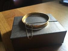 F HINDS Rolled Gold Bangle Bracelet