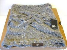 Ugg Zermatt Cobblestone Cable knit Women Snood One Size