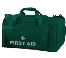 FIRST AID Green Holdall/Work Bag Paramedic Ambulance Medic St John 2 Free Pens