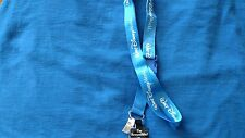 AUTHENTIC DISNEY PARKS PIN LANYARD/KEYCHAIN WDW TINKER BELL CASTLE FIREWORKS