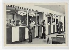 """2nd FLOOR ICE CREAM BAR, ALEXANDER CLUB, ROME: Italy postcard (C17816)"