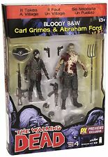 The Walking Dead Comic Series 4 Carl Grimes and Abraham Ford Action Figure 2Pack