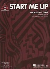 Rolling Stones Start Me Up  US Sheet Music Guitar Tab Edition
