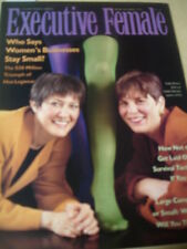 march / april 1992 Executive Female issue Kathy Moskal & Sandy Chilewich cover