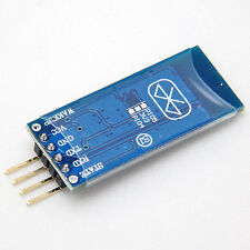 4Pin Bluetooth RF Wireless Serial Transceiver Module HC-06 RS232 With backplane