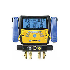Fieldpiece SMAN440 Four-Port Wireless Manifold with Clamps