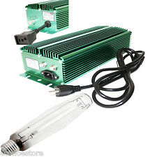 600W Watt HPS Bulb Lamp + Super Lumen Digital Ballast Hydroponic Grow Light Kit