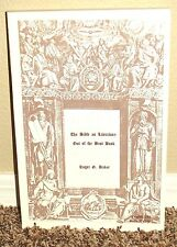 THE BIBLE AS LITERATURE: OUT OF THE BEST BOOKS by Roger Baker 1SED LDS MORMON PB
