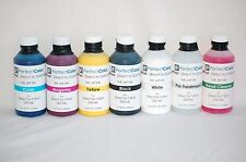 Perfect Color DTG Direct to Garment (T-Shirt) Ink Set-250ml Bottles CMYK/W/PT/HC