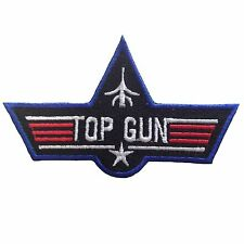 TOP GUN IRON PATCH BADGE US AIR FORCE TOM CRUISE COSTUME DRESS PATCH FOR JACKET