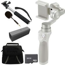 DJI Osmo Mobile Gimbal Stabilizer for Smartphones w/ Professional Bundle - Silve