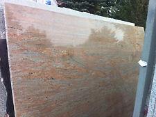 Arbeitsplatte Stein Granitplatte Esstischplatte Naturstein Raw Silk Küchenplatte