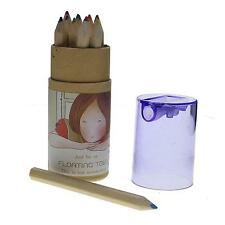 Artist Professional Cute 12 Colors Drawing Painting Wooden Pencil Child Kid Gift
