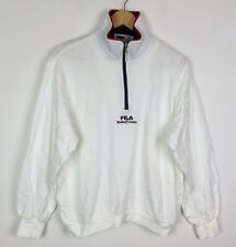 VINTAGE RETRO FILA 90s SWEATER SWEATSHIRT SPORTS JUMPER PULLOVER RENEWAL UK M