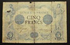 """5 Francs """"Noir"""" - 13 juin 1872"""