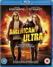 American Ultra [Blu-ray] [2016] Jesse Eisenberg New Sealed