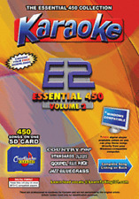 Chartbuster Essential 450 Vol. E2- 450 MP3G SD CARD KARAOKE CDG MUSIC 4 PLAYER