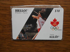 CANADIAN OLYMPICS SPORTS (1996) JAVELIN Games of the XXVI Olympiad HELLO! PHONE