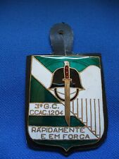 PORTUGAL PORTUGUESE MILITARY AFRICA COLONIAL WAR 3 G.C. C. CAÇ. 1204 BADGE
