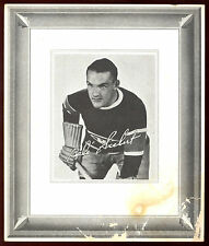 1938-39 QUAKER OATS #110 BABE SIEBERT MONTREAL CANADIENS ORIGIANAL HOCKEY PHOTO