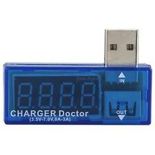 Blue Portable USB Power Portable Mini Current and Voltage Tester Detector HYDG
