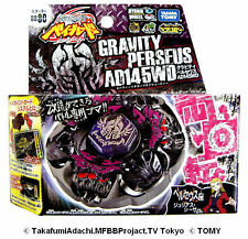 TAKARA TOMY BEYBLADE METAL FUSION BB80 Gravity Destroyer Perseus+LAUNCHER LR