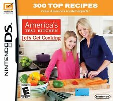 AMERICA'S TEST KITCHEN: LET'S GET COOKING (NINTENDO DS) - NEW, FACTORY SEALED