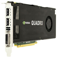 NVIDIA QUADRO k4000 3gb ddr5 Scheda Grafica Gaming Workstation a 192 Bit