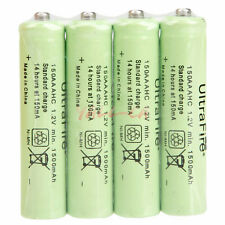 New 4Pcs 1.2V 1500mAh Ni-MH Durable Rechargeable Batteries Battery 150AAA HK