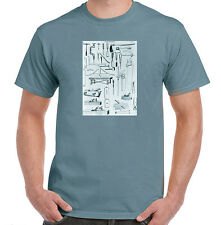 Carpentry Hand Tools, Woodworking T-Shirt, NWT, All Sizes & Styles, Tagless