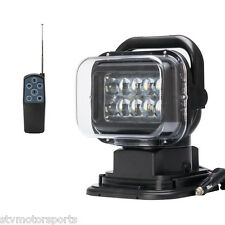 "7"" in 50W MAGNETIC LED Light Remote Control Search Light Spot Car Boat Off Road"