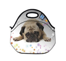 Pug Insulated Tote Thermal Lunch Bag Tote /Cool Bag/Cooler/Lunch Box/Picnic Bag