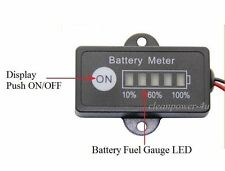 12V Lead Acid Battery Fuel Gauge Indicator Meter 12 Volt SLA AGM GEL Battery