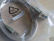 *NEW* Nexcom 6023309081X00 SERIAL COM port 6ft cable DB9 female to RJ45 ROUTER