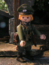 PLAYMOBIL CUSTOM   OFICIAL 14 INF.- DIVISION  (LUBLIN POLONIA-1939) REF-0510 BIS