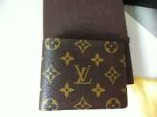 Louis Vuitton Monogram Canvas Mens Bifold Wallet Authentic