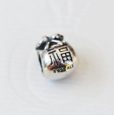 "Genuine Pandora Good Fortune Money Bag ""Hong Bao"" - 790990 - retired"