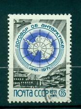 Russie - USSR 1971 - Michel n. 3890 - 10 années Traité sur l'Antarctique