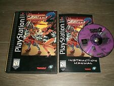 Battle Arena Toshinden 2 Complete CIB & VERY GOOD COND PS1 Playstation! Longbox
