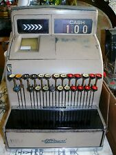 1938 Antique Vtg Cash Register NCR National Cash Register 124 (4) With Key
