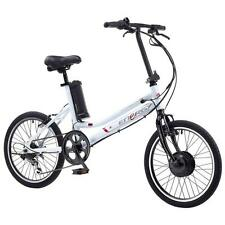 "Coyote Energy 20"" Alloy Folding 6 Speed 24V Battery 250W Electric Bike Cycle"