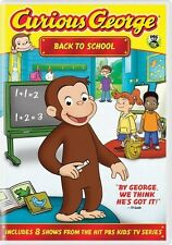 Curious George: Back to School (2011, REGION 1 DVD New)